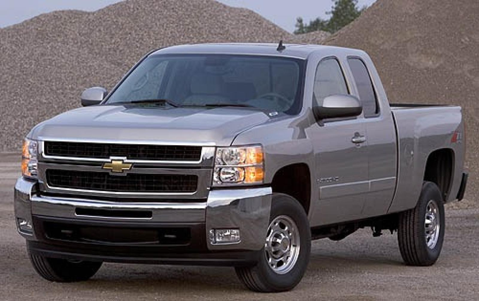 2007 chevrolet silverado 2500hd information and photos zombiedrive. Black Bedroom Furniture Sets. Home Design Ideas