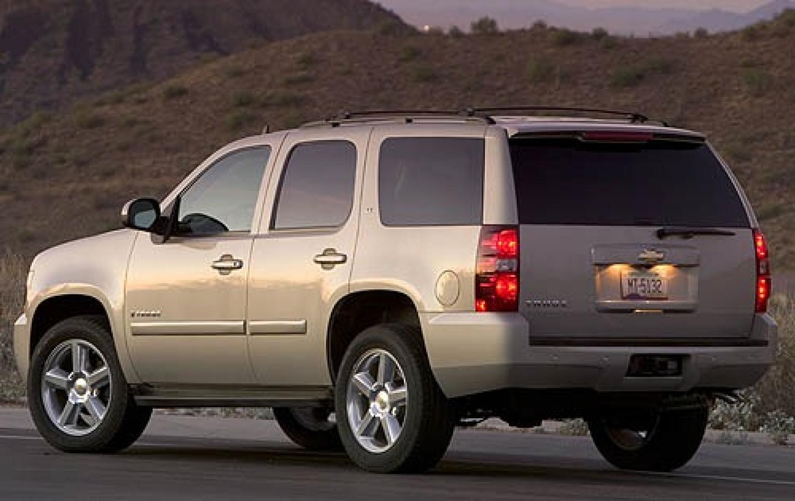 2007 chevrolet tahoe information and photos zombiedrive. Black Bedroom Furniture Sets. Home Design Ideas