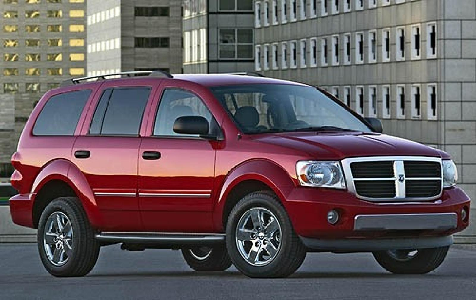 2007 dodge durango information and photos zombiedrive