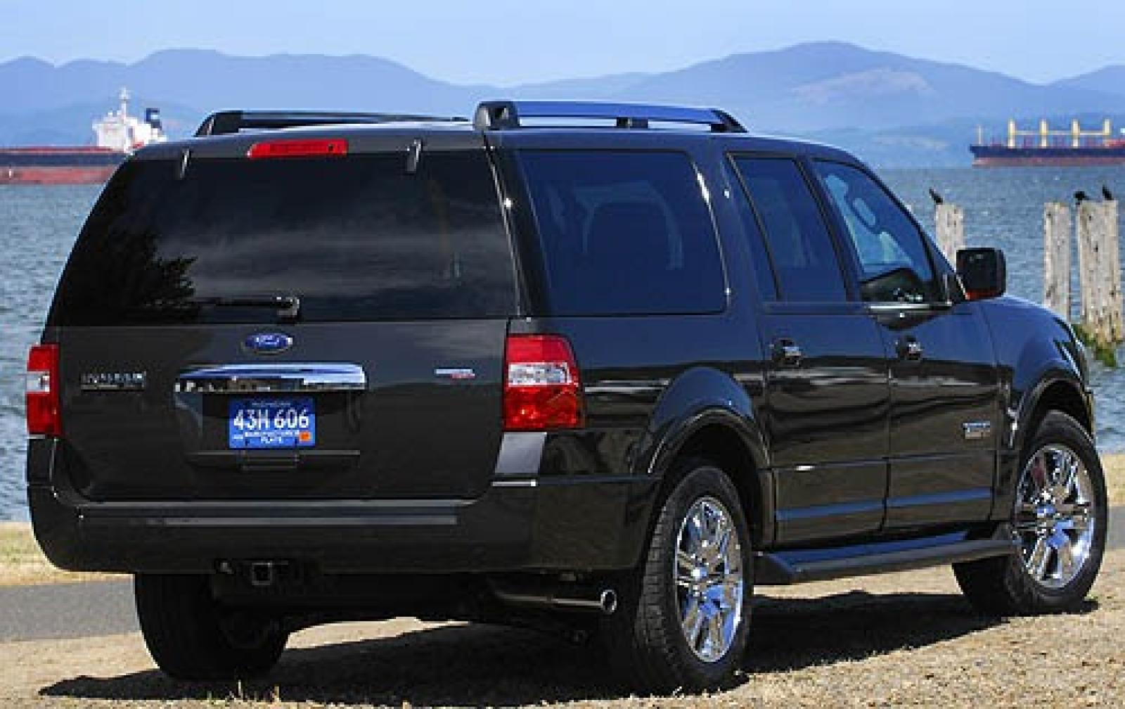 2007 ford expedition el information and photos zombiedrive. Black Bedroom Furniture Sets. Home Design Ideas