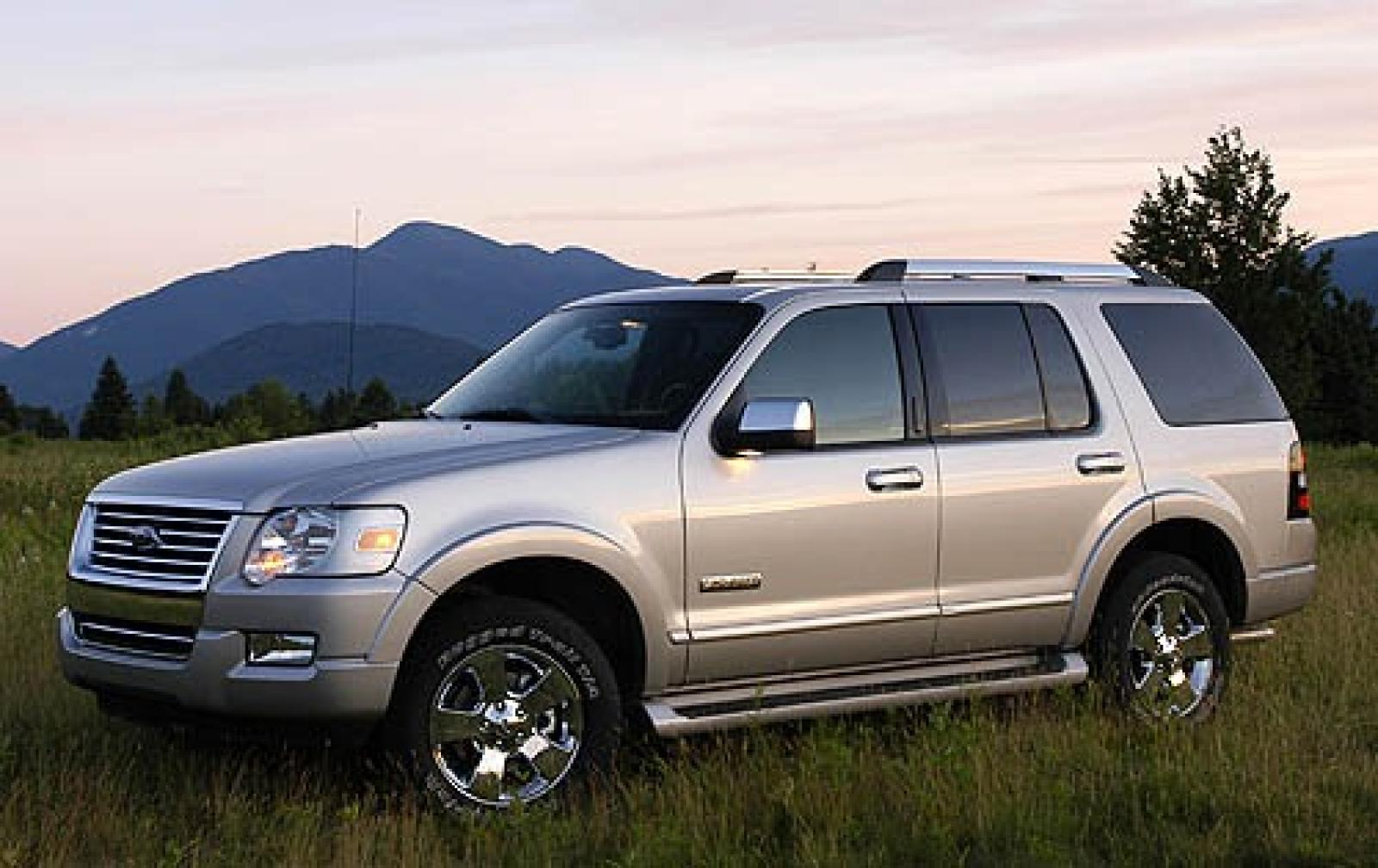 2007 ford explorer information and photos zombiedrive. Black Bedroom Furniture Sets. Home Design Ideas