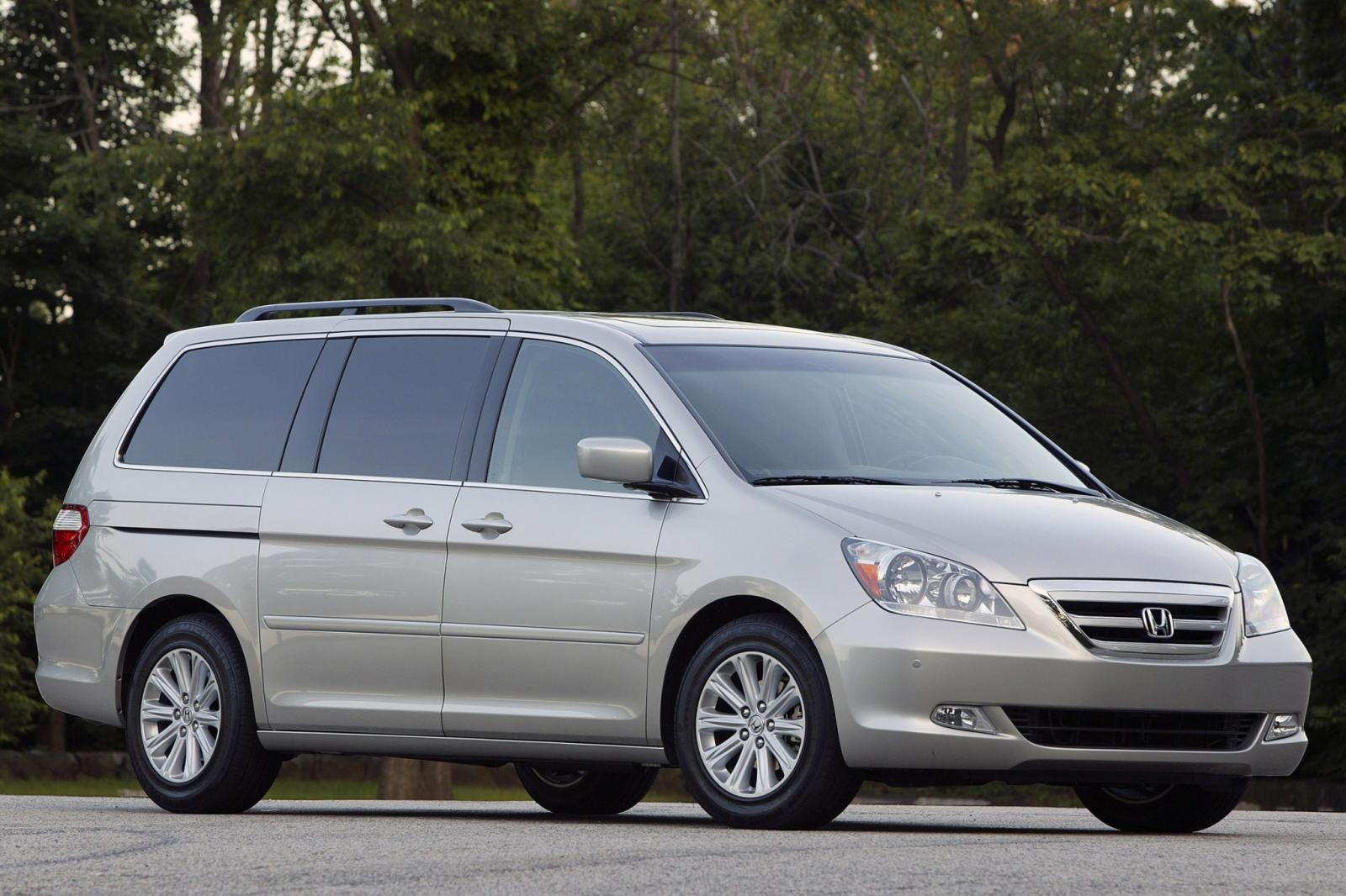 2007 honda odyssey information and photos zombiedrive. Black Bedroom Furniture Sets. Home Design Ideas