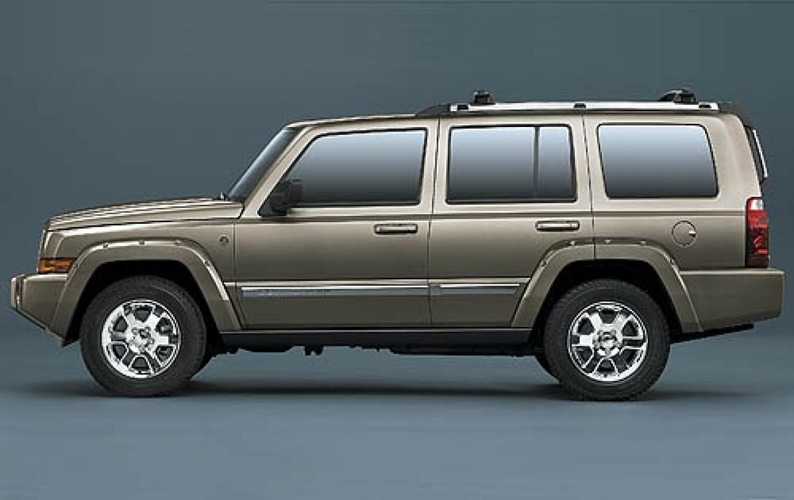 2007 jeep commander information and photos zombiedrive. Black Bedroom Furniture Sets. Home Design Ideas
