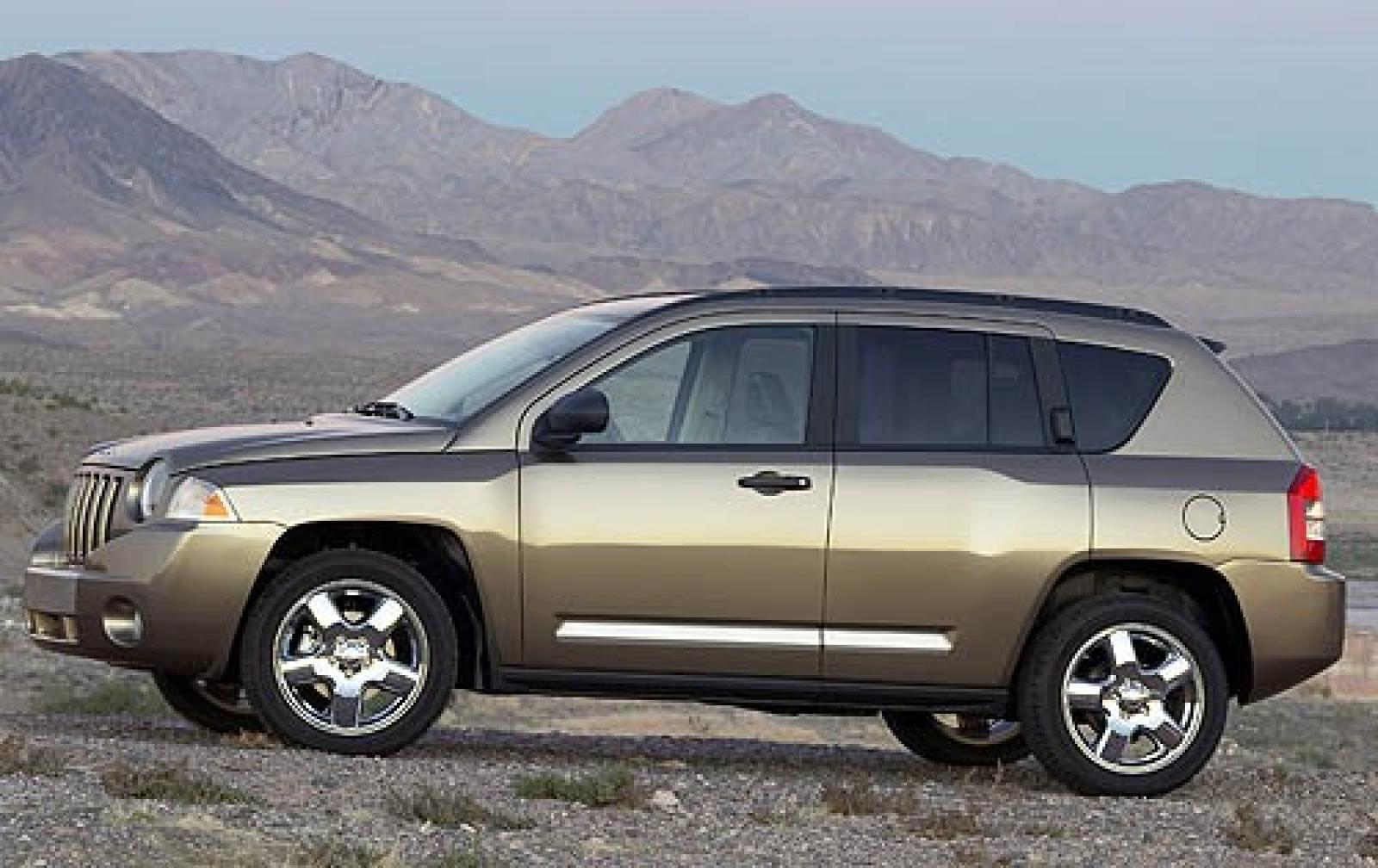 2007 jeep compass information and photos zombiedrive. Black Bedroom Furniture Sets. Home Design Ideas