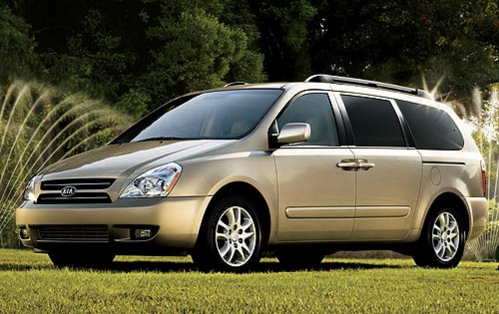 2007 kia sedona information and photos zombiedrive. Black Bedroom Furniture Sets. Home Design Ideas