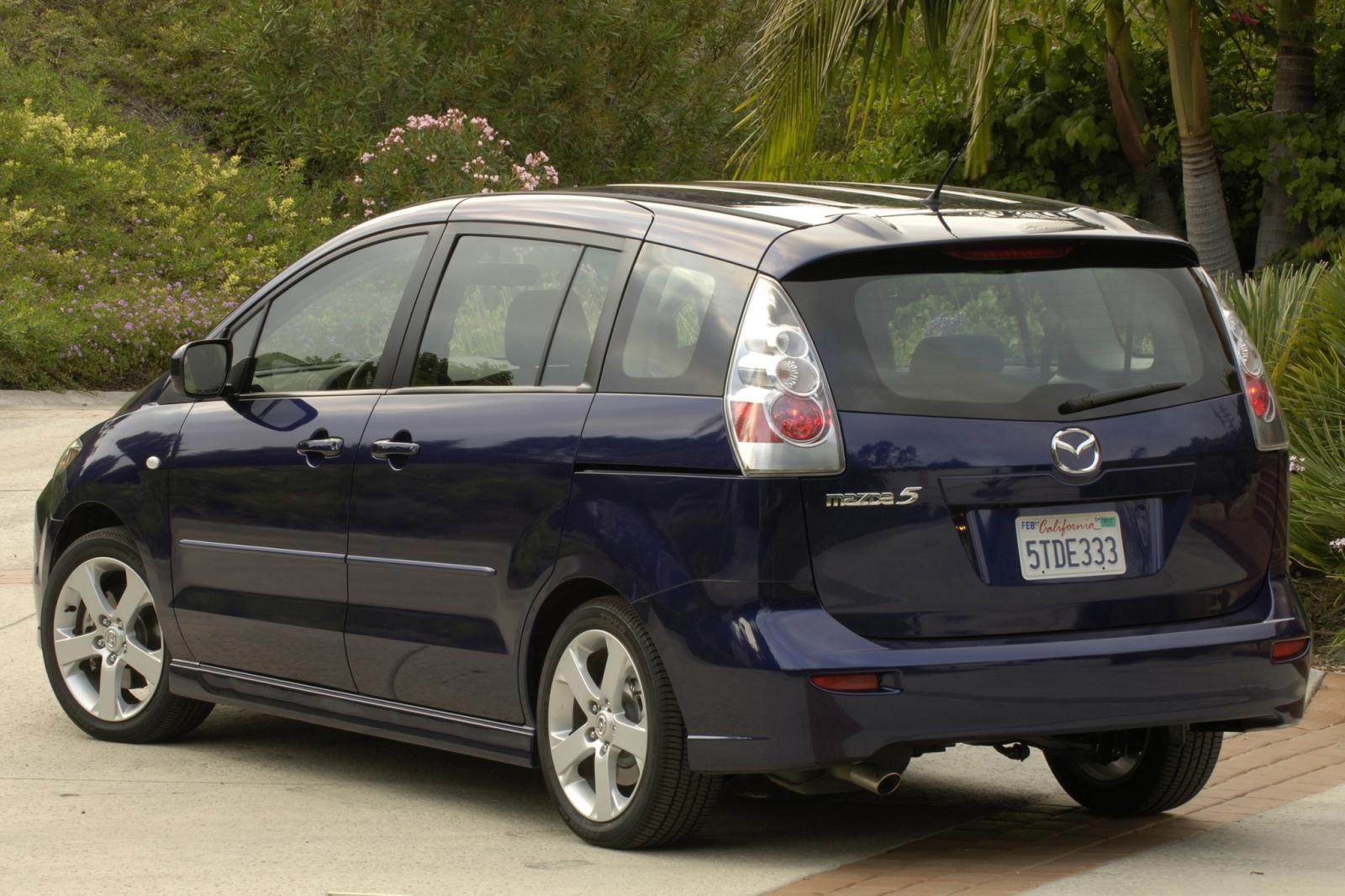 2007 mazda mazda5 information and photos zombiedrive. Black Bedroom Furniture Sets. Home Design Ideas