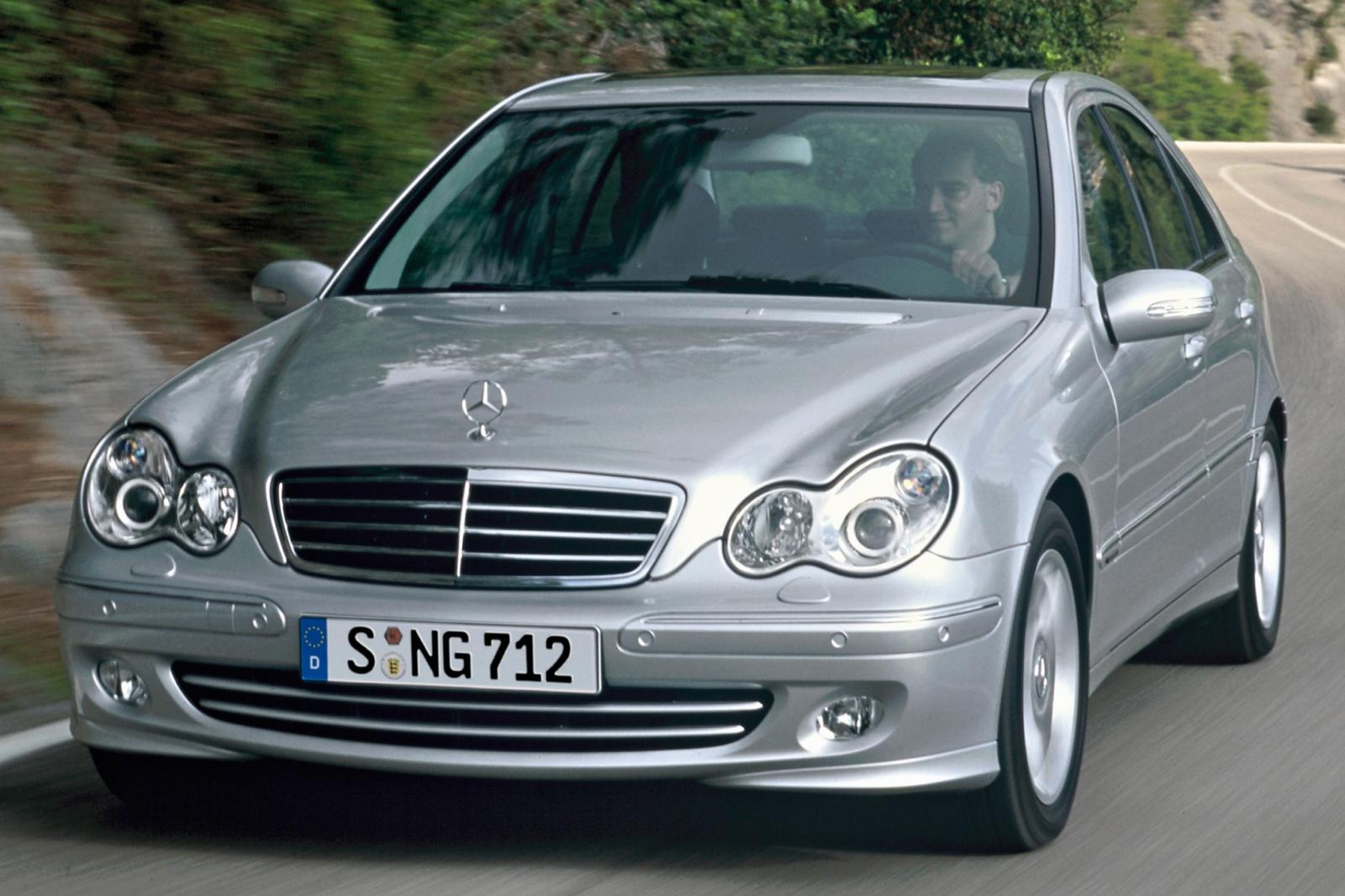 2007 mercedes benz c class information and photos zombiedrive. Black Bedroom Furniture Sets. Home Design Ideas