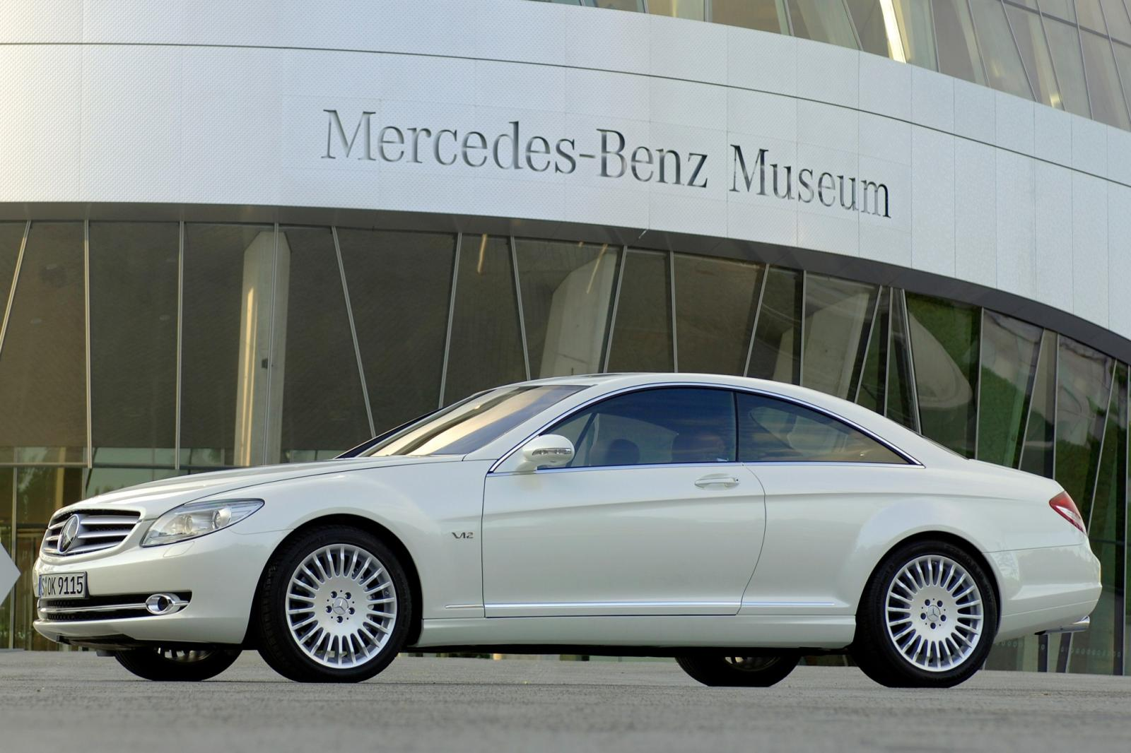 2007 Mercedes Benz Cl Class Information And Photos