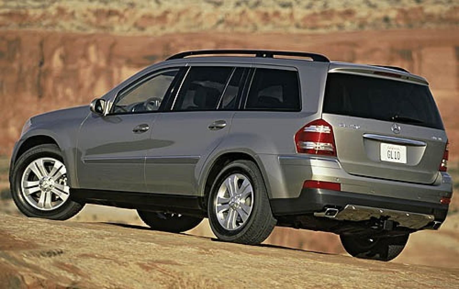 2007 mercedes benz gl class information and photos. Black Bedroom Furniture Sets. Home Design Ideas