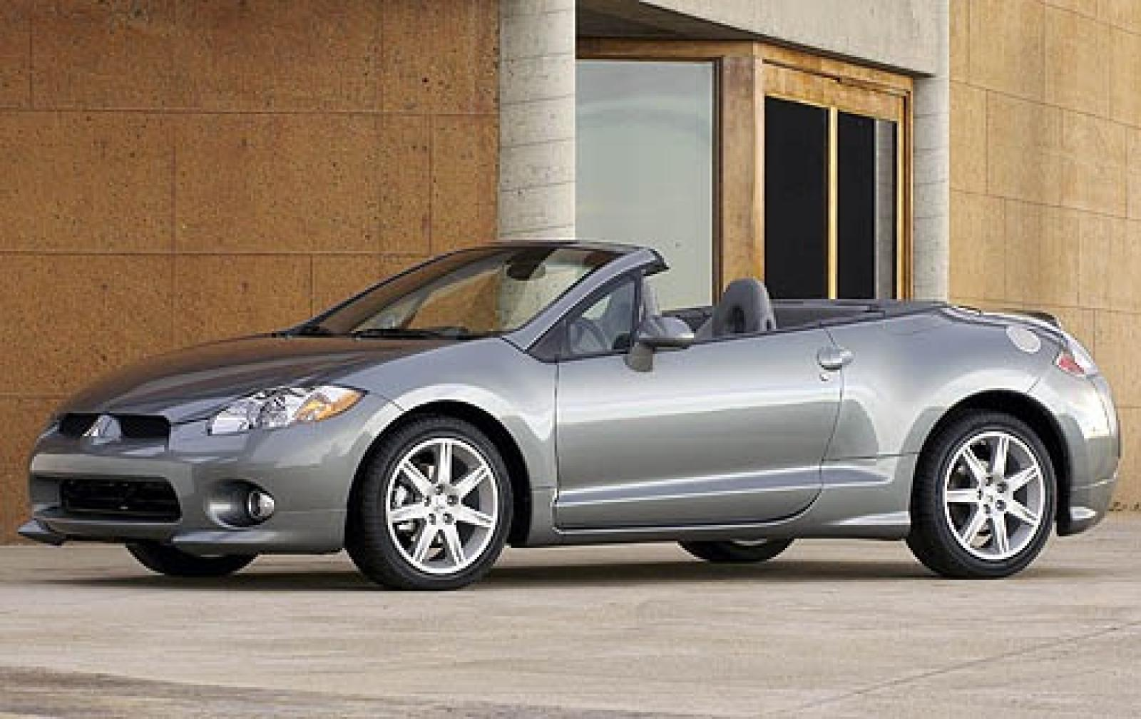 2007 mitsubishi eclipse spyder information and photos zombiedrive. Black Bedroom Furniture Sets. Home Design Ideas