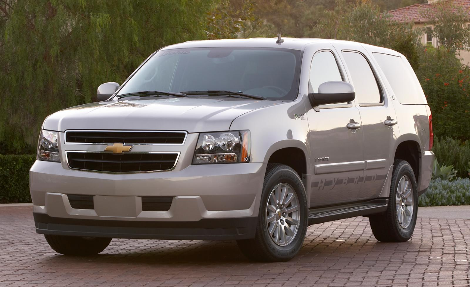 2008 chevrolet tahoe hybrid information and photos zombiedrive. Cars Review. Best American Auto & Cars Review