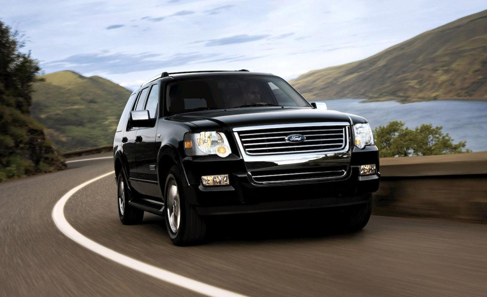 2008 ford explorer information and photos zombiedrive. Black Bedroom Furniture Sets. Home Design Ideas