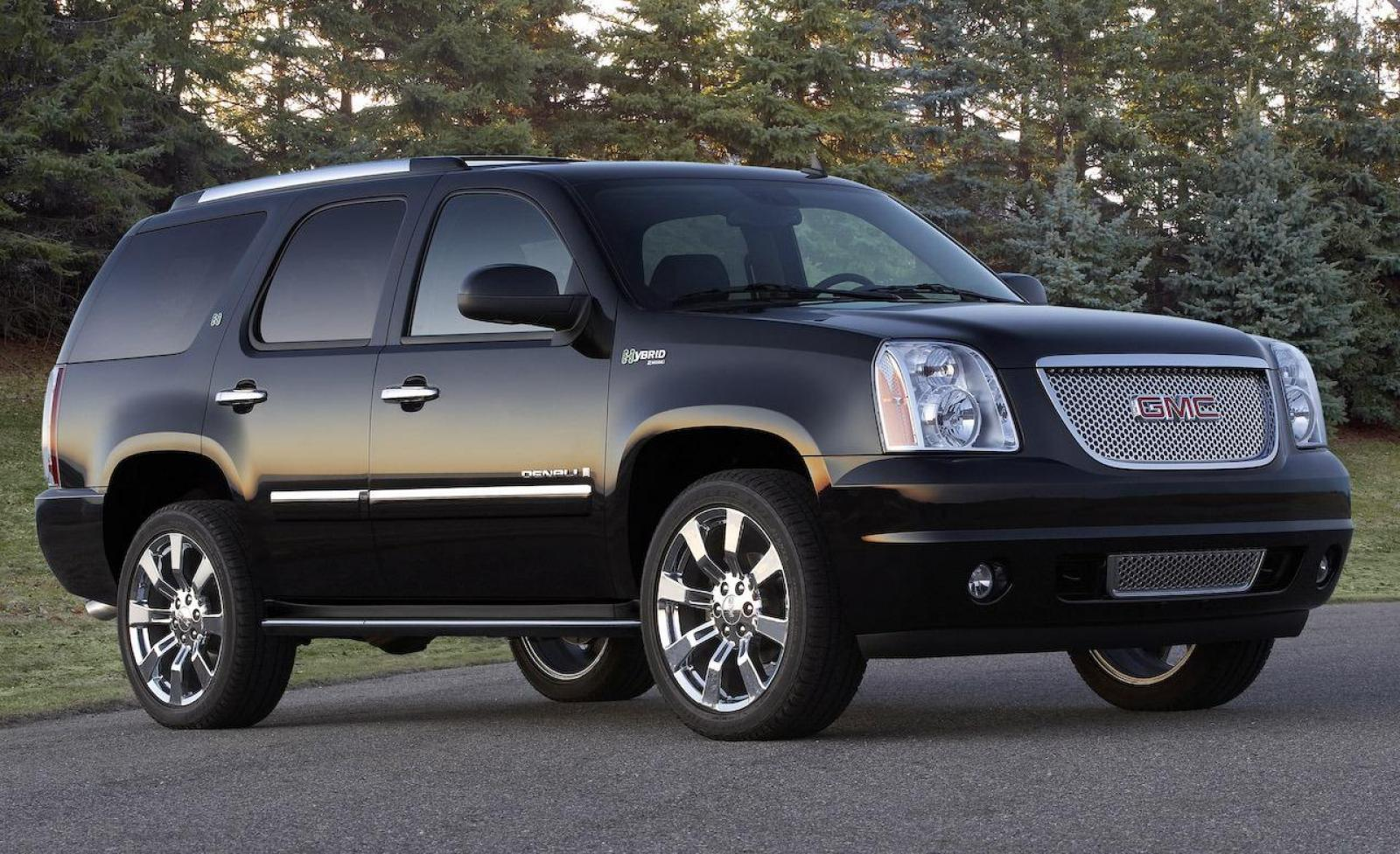 2008 gmc yukon hybrid information and photos zombiedrive. Black Bedroom Furniture Sets. Home Design Ideas