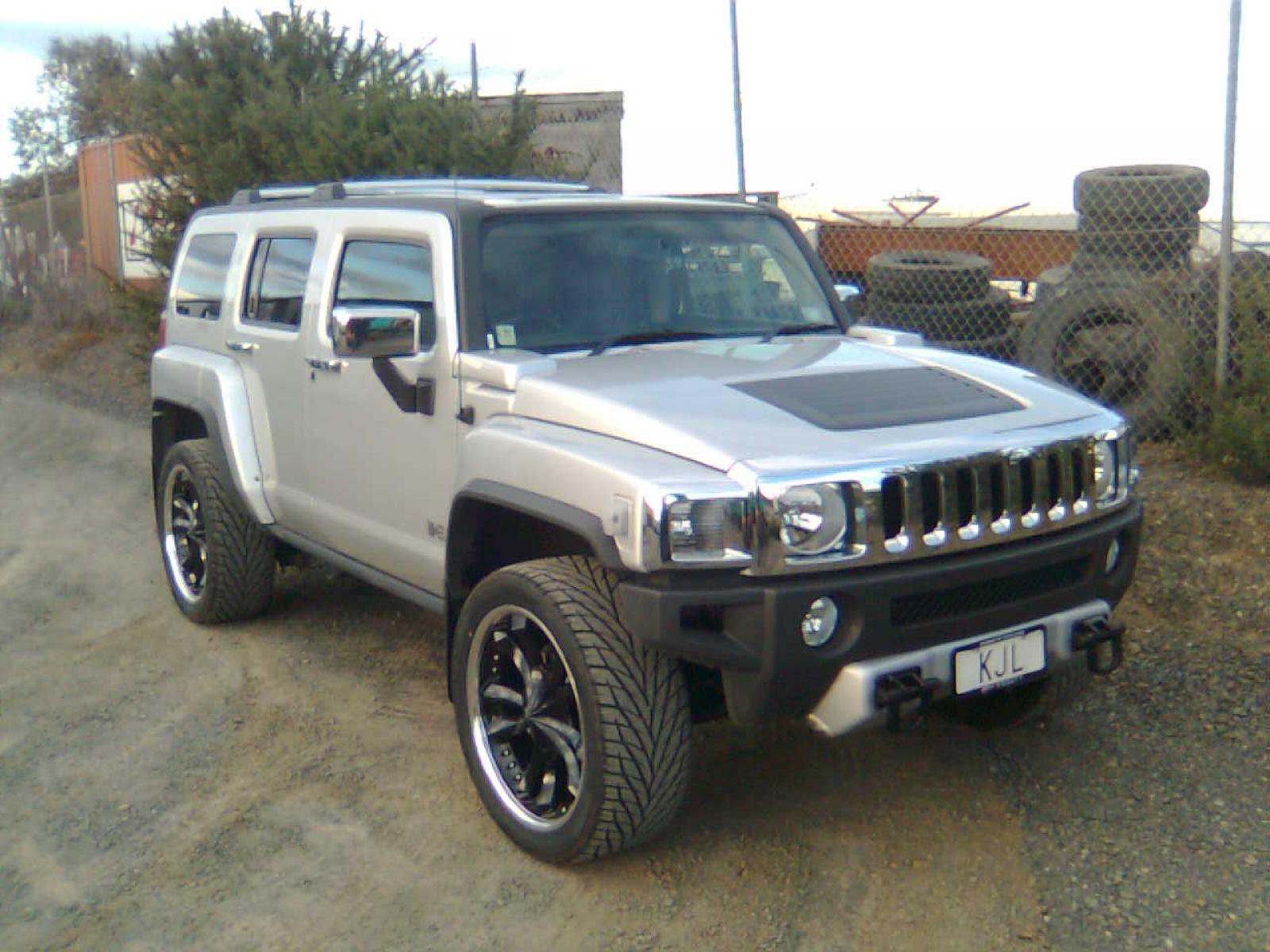 2008 hummer h3 information and photos zombiedrive. Black Bedroom Furniture Sets. Home Design Ideas