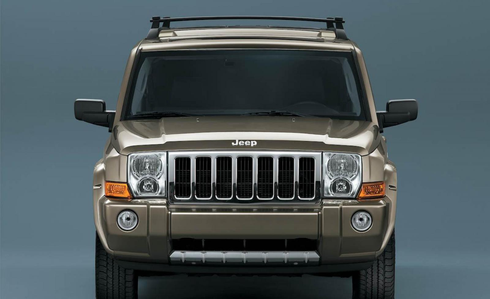 2008 jeep commander - information and photos - zombiedrive