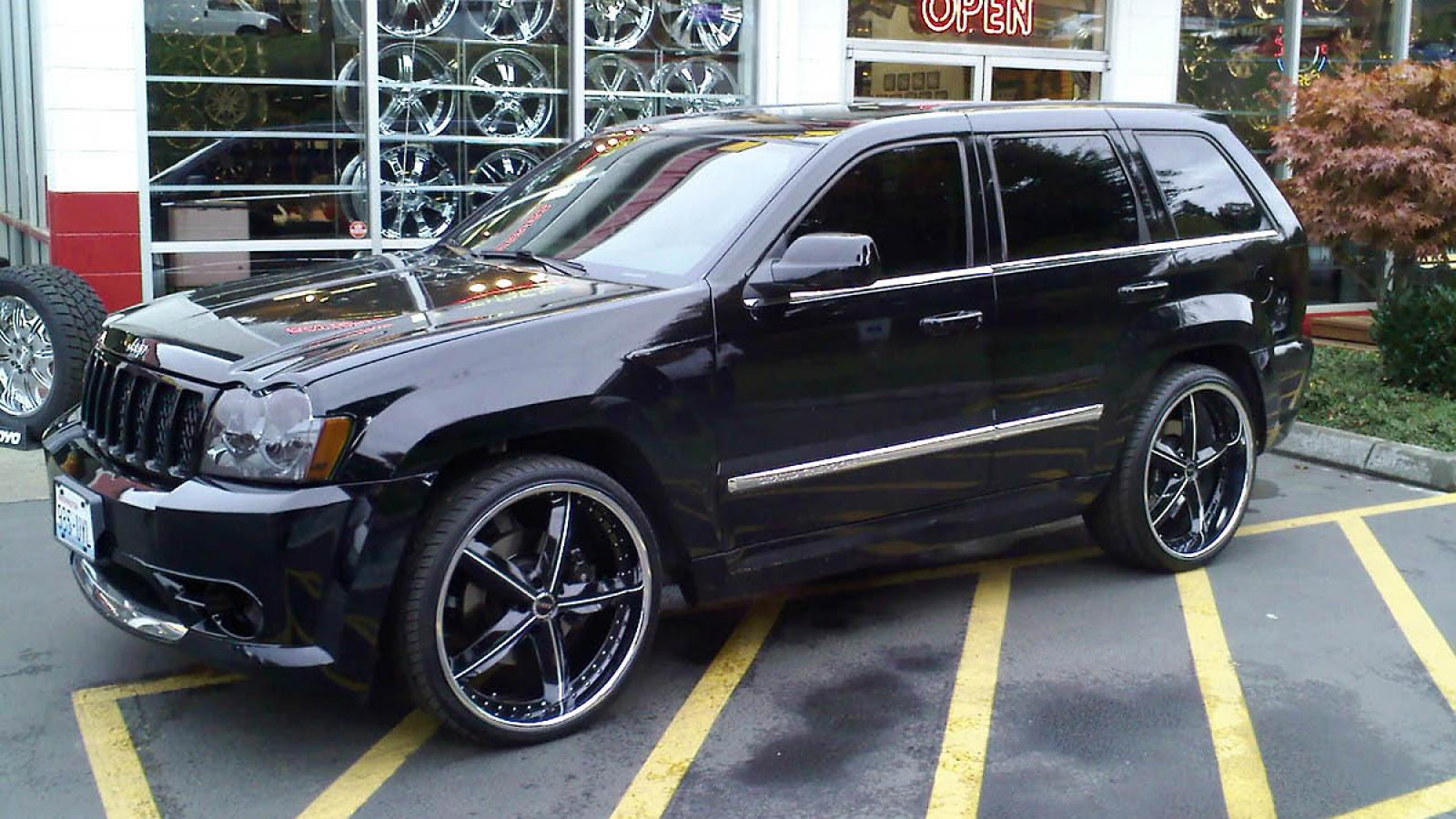 2008 jeep grand cherokee information and photos zombiedrive. Black Bedroom Furniture Sets. Home Design Ideas