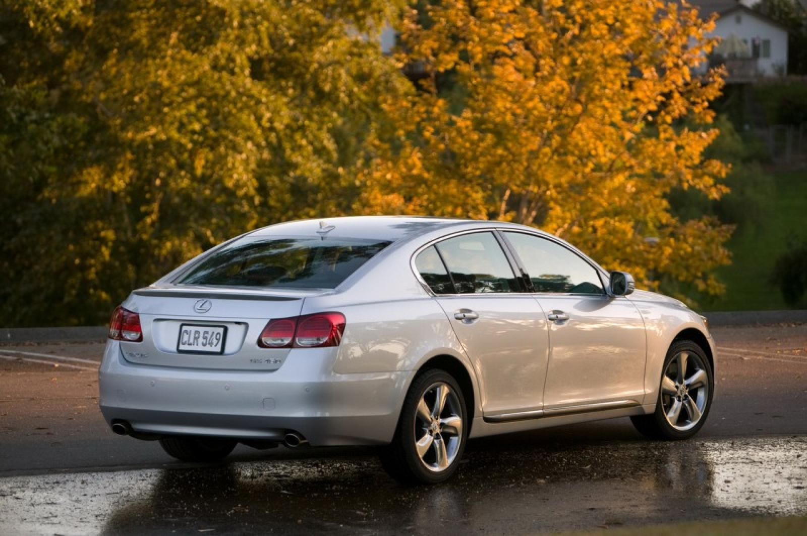 2008 lexus gs 350 - information and photos - zombiedrive