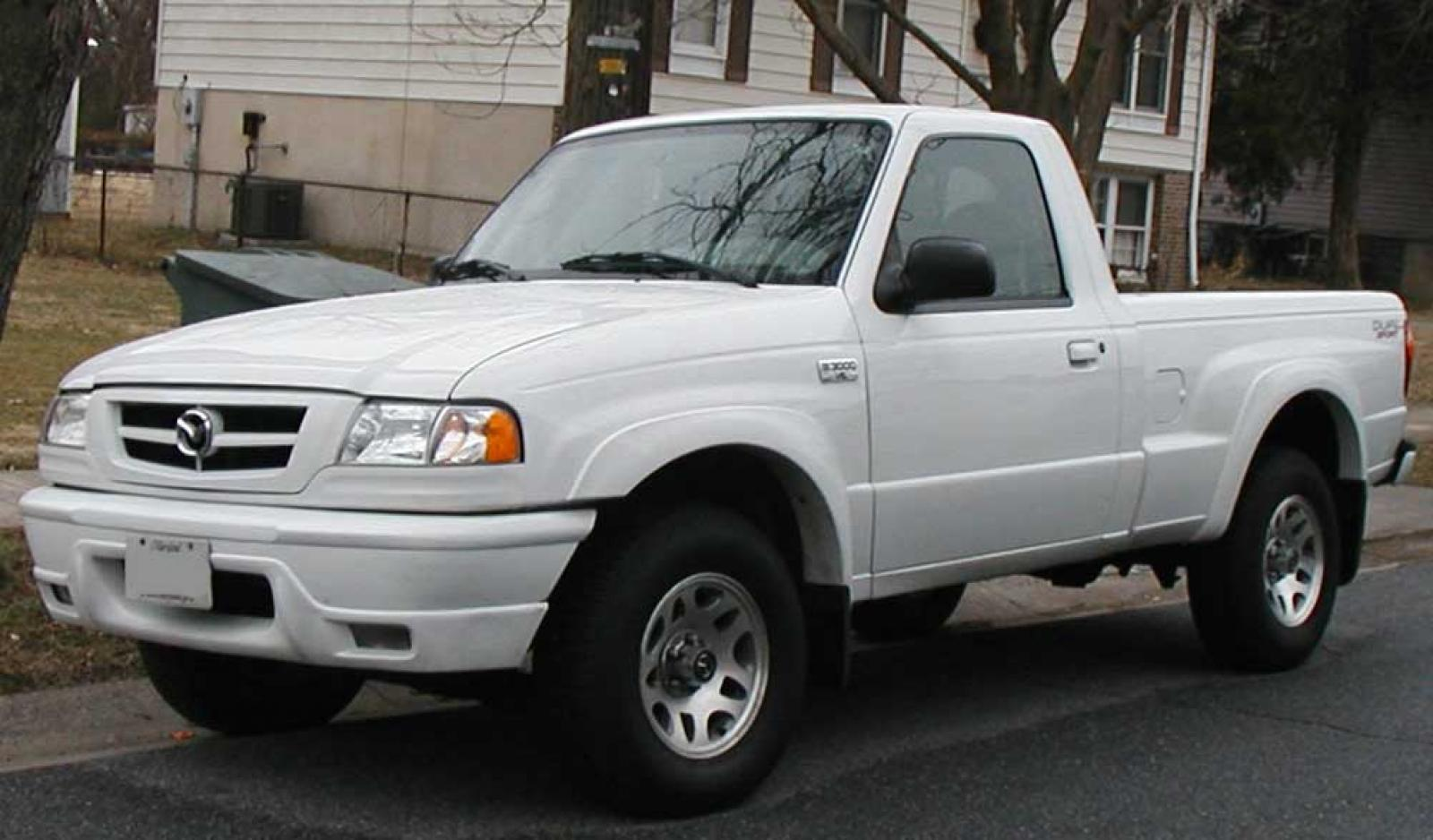 Mazda B Series Truck on 2001 Ford Ranger Exhaust System