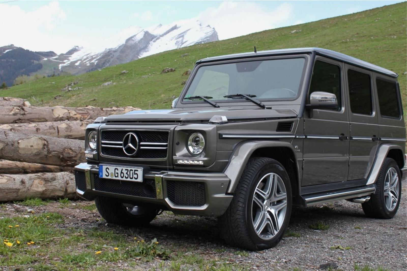 2008 mercedes benz g class information and photos zombiedrive. Black Bedroom Furniture Sets. Home Design Ideas