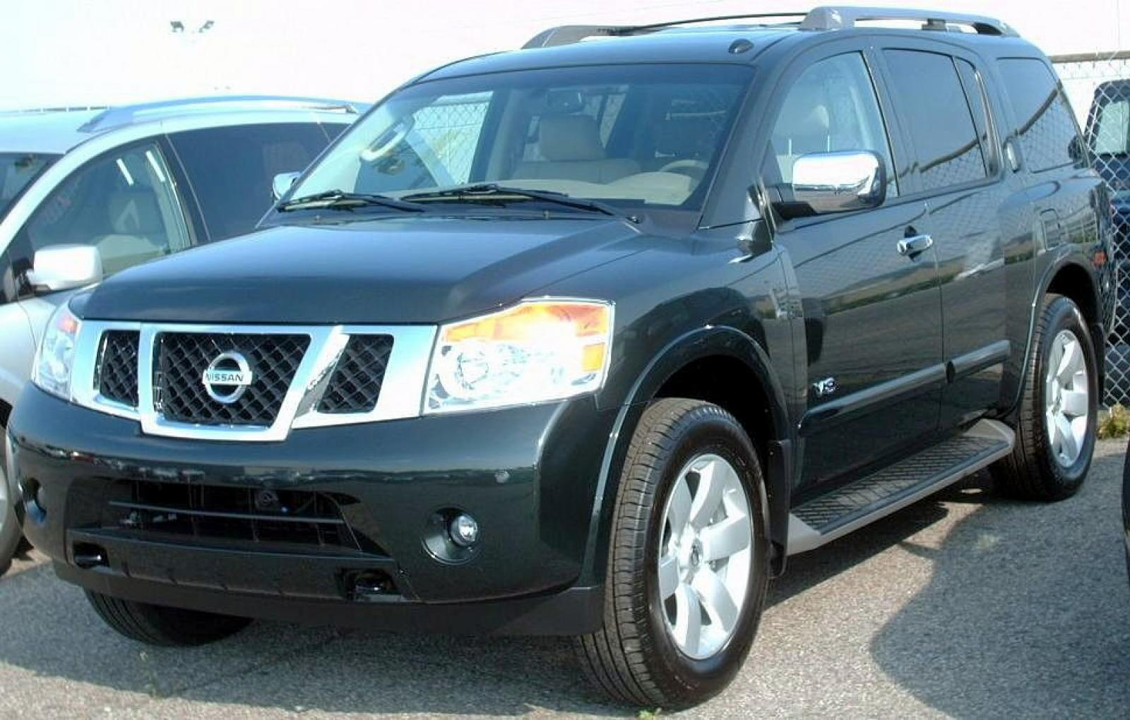 2008 nissan armada information and photos zombiedrive. Black Bedroom Furniture Sets. Home Design Ideas
