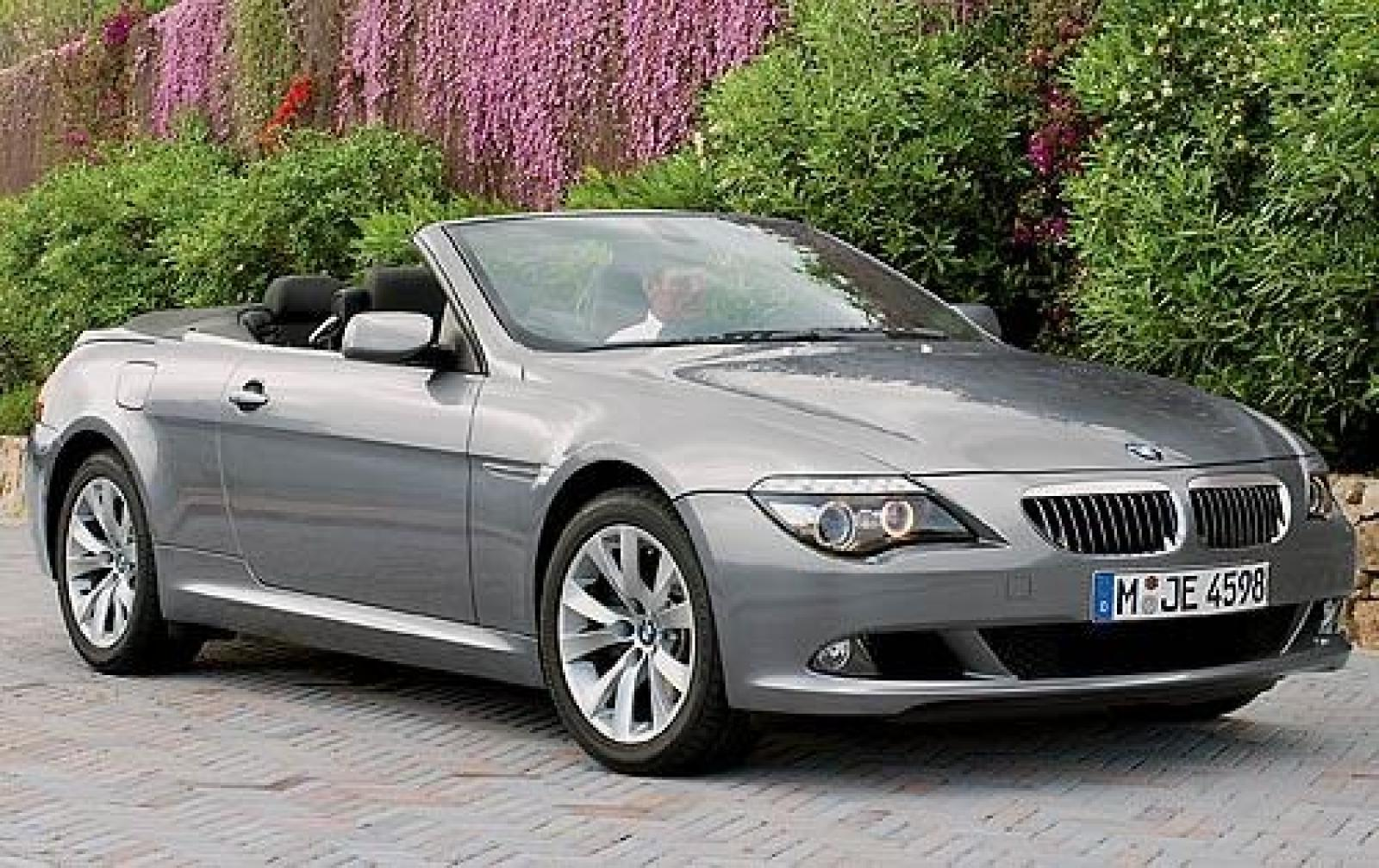 2010 bmw 6 series information and photos zombiedrive. Black Bedroom Furniture Sets. Home Design Ideas
