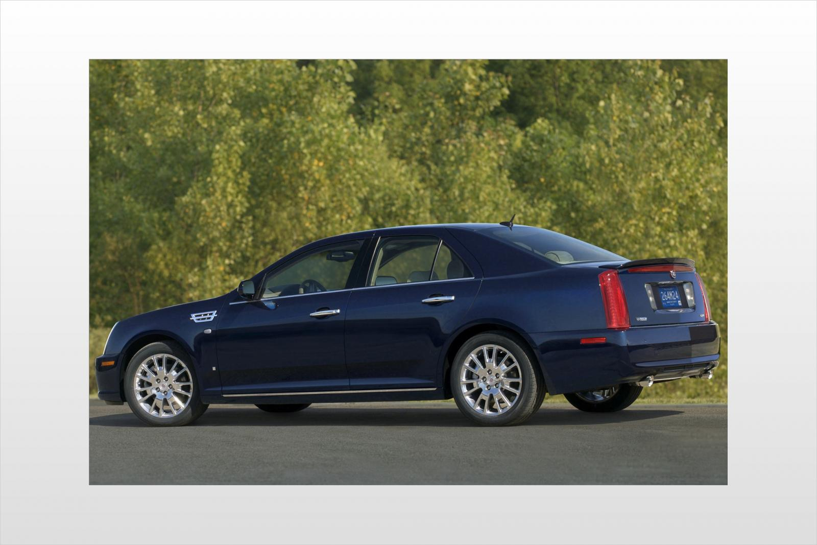 2008 cadillac sts information and photos zombiedrive. Black Bedroom Furniture Sets. Home Design Ideas
