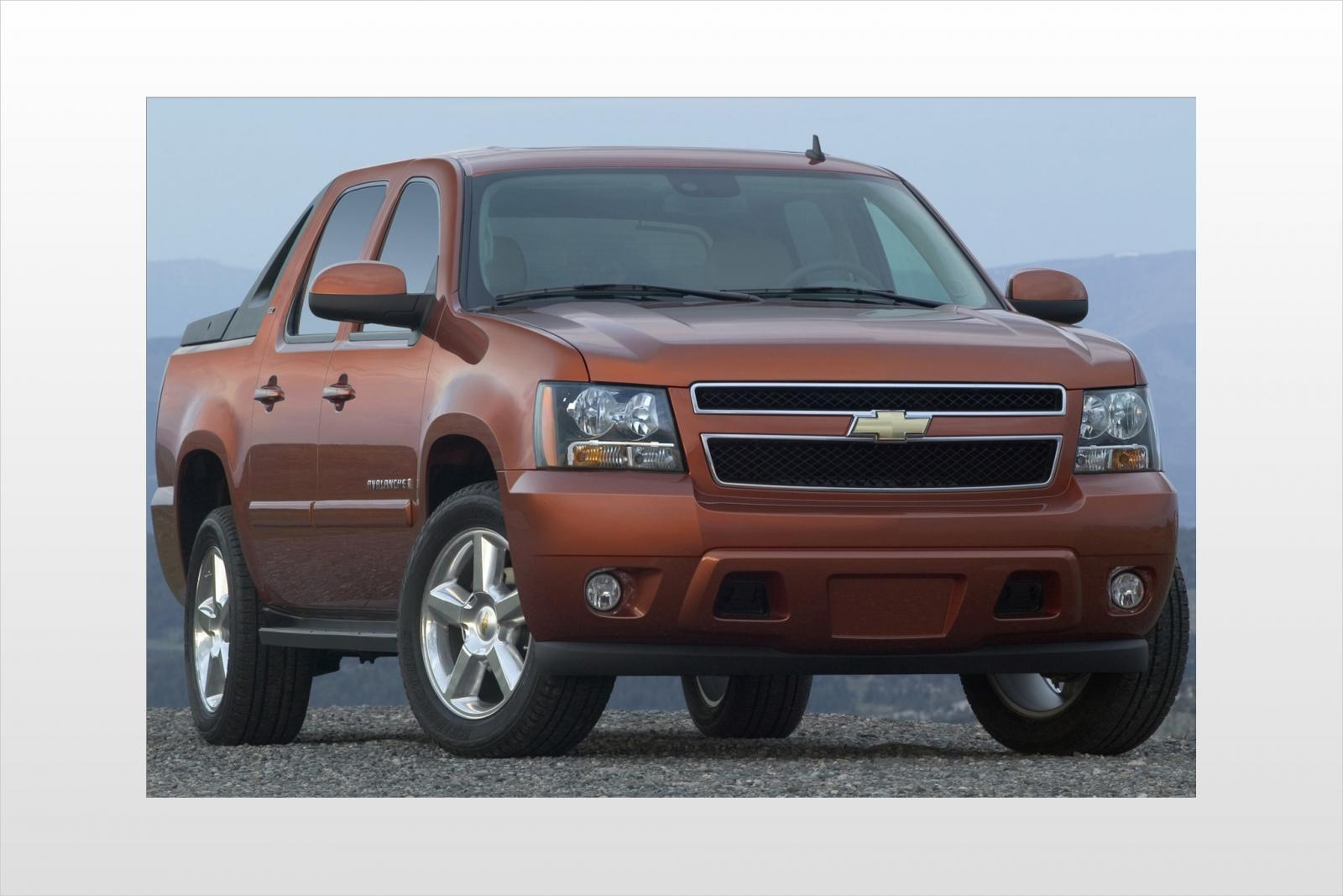 2008 chevrolet avalanche information and photos. Black Bedroom Furniture Sets. Home Design Ideas