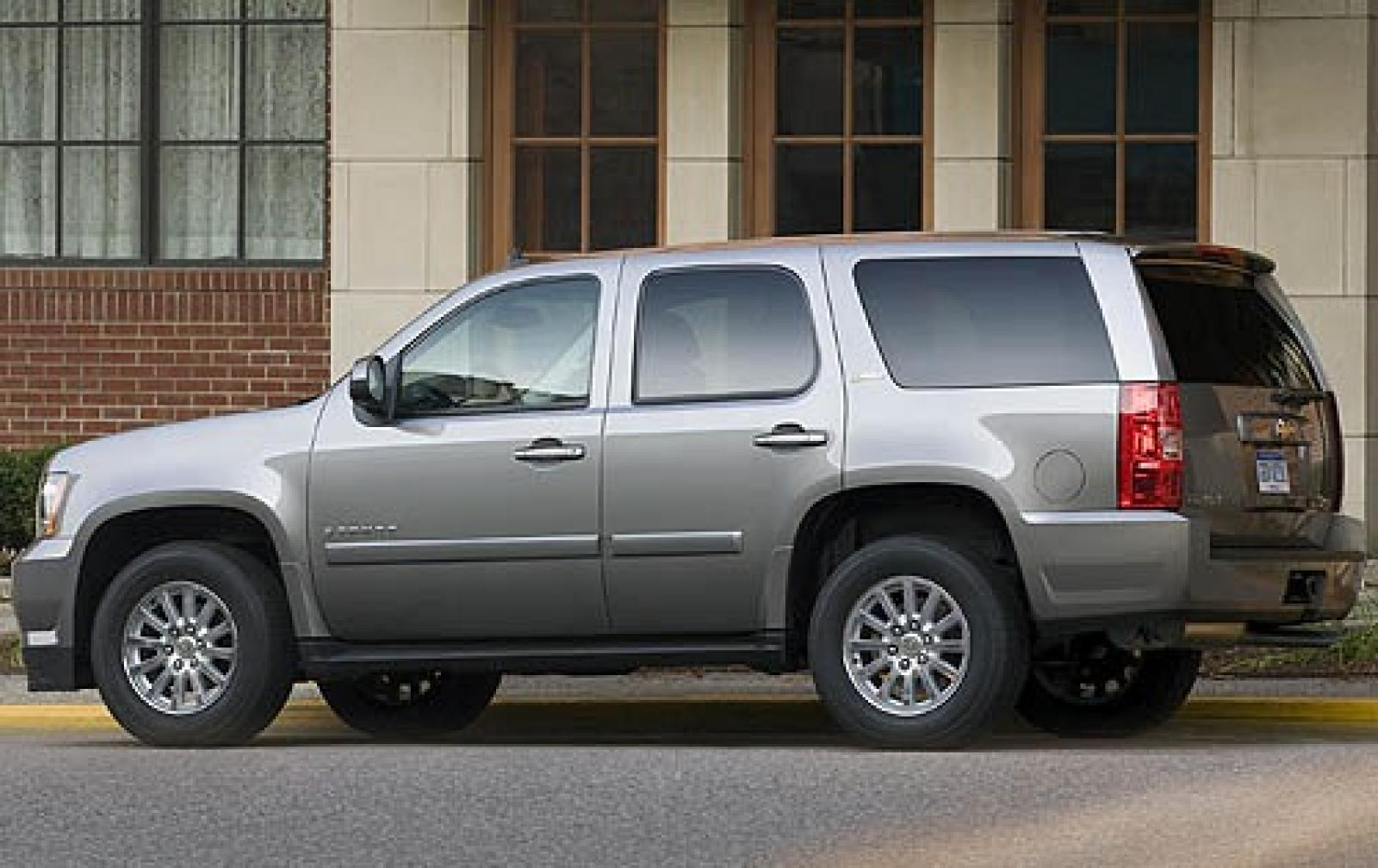 2008 chevrolet tahoe hybrid information and photos zombiedrive. Black Bedroom Furniture Sets. Home Design Ideas