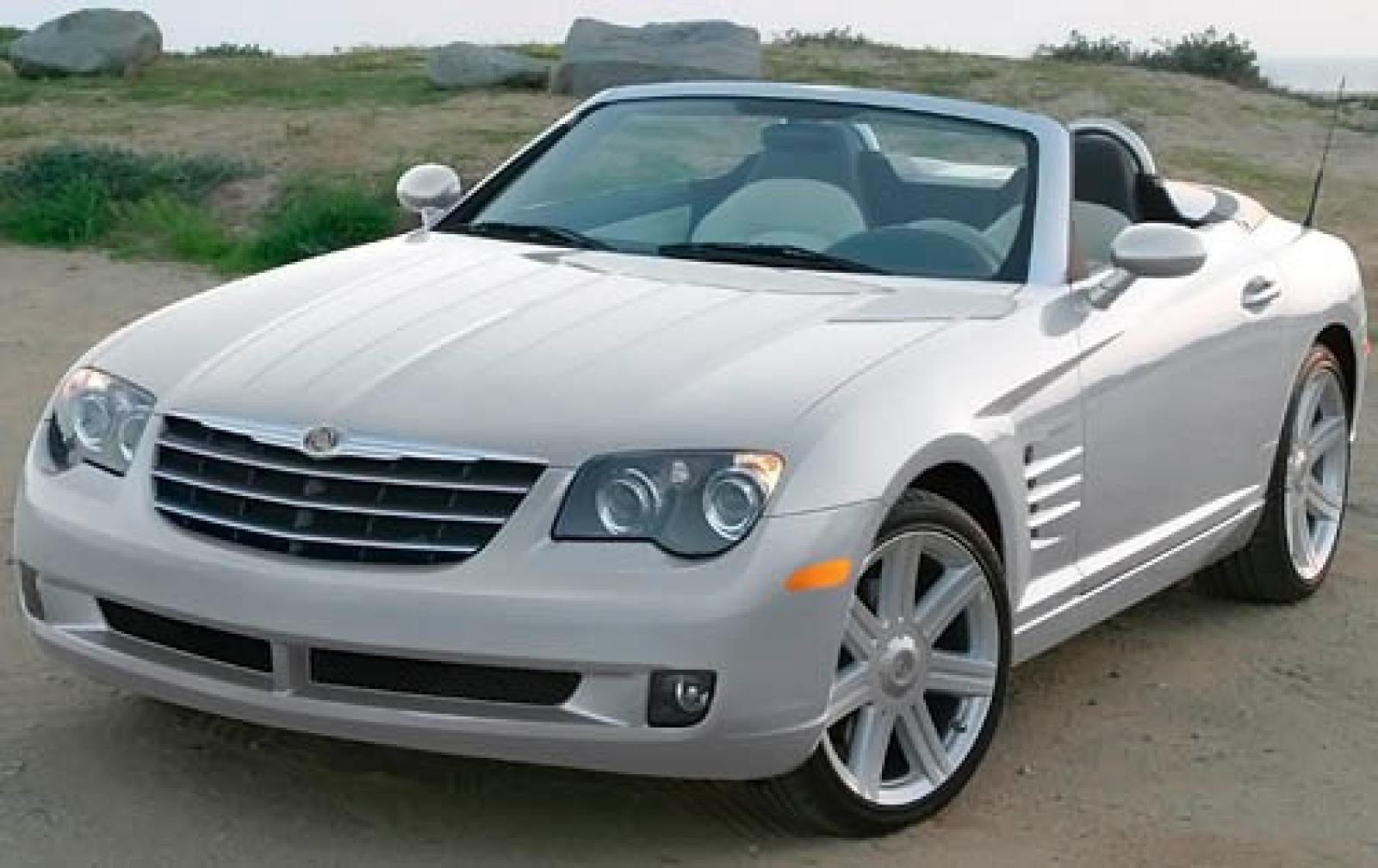 2008 chrysler crossfire information and photos zombiedrive. Black Bedroom Furniture Sets. Home Design Ideas
