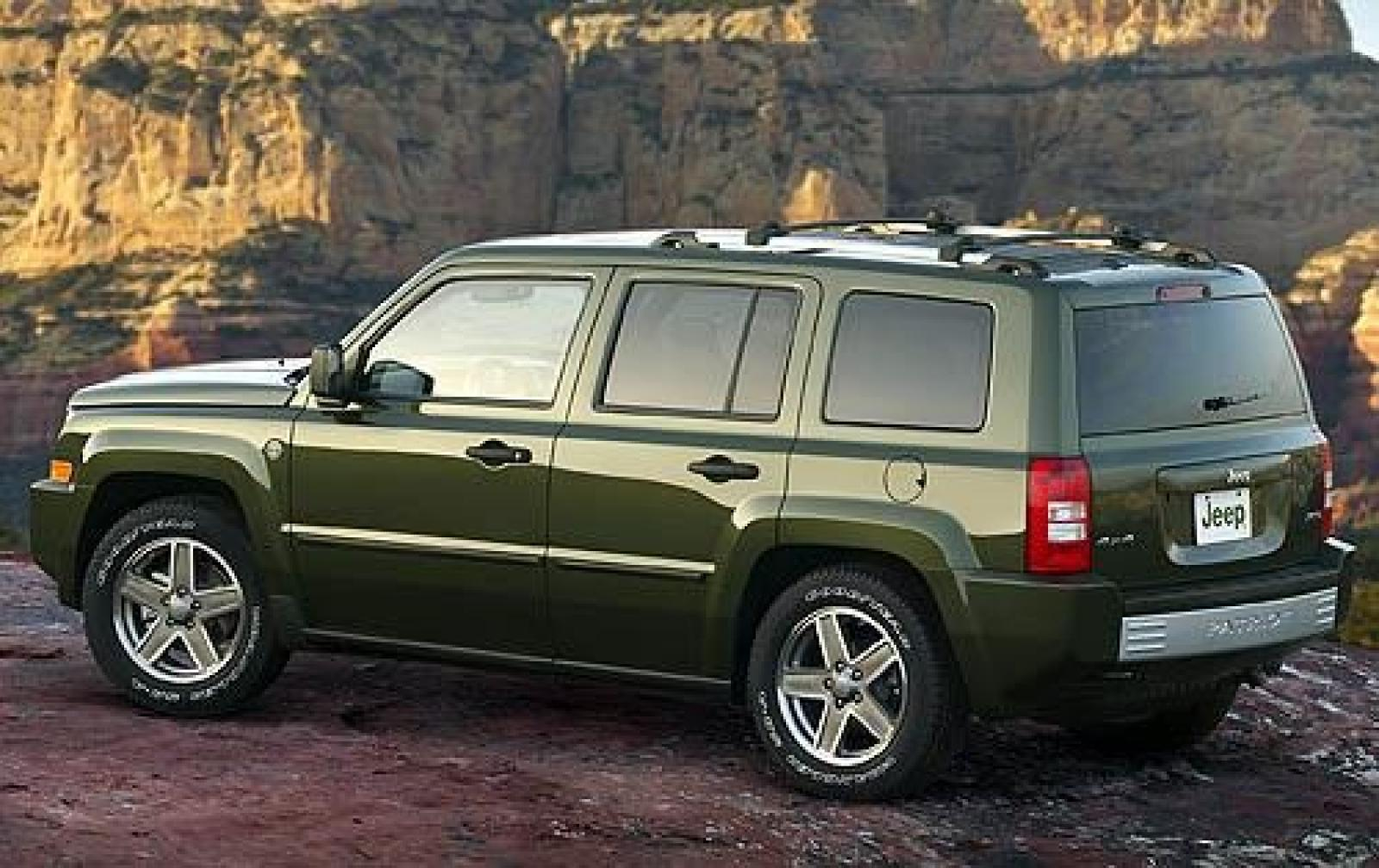 2009 jeep patriot information and photos zombiedrive. Black Bedroom Furniture Sets. Home Design Ideas