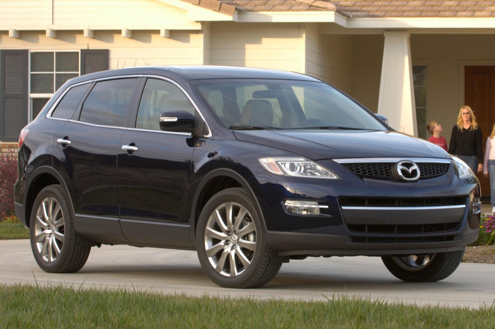 2009 mazda cx 9 information and photos zombiedrive. Black Bedroom Furniture Sets. Home Design Ideas