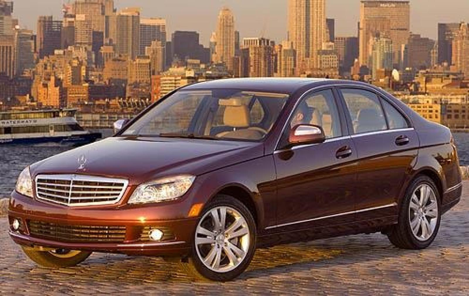2008 mercedes benz c class information and photos. Black Bedroom Furniture Sets. Home Design Ideas