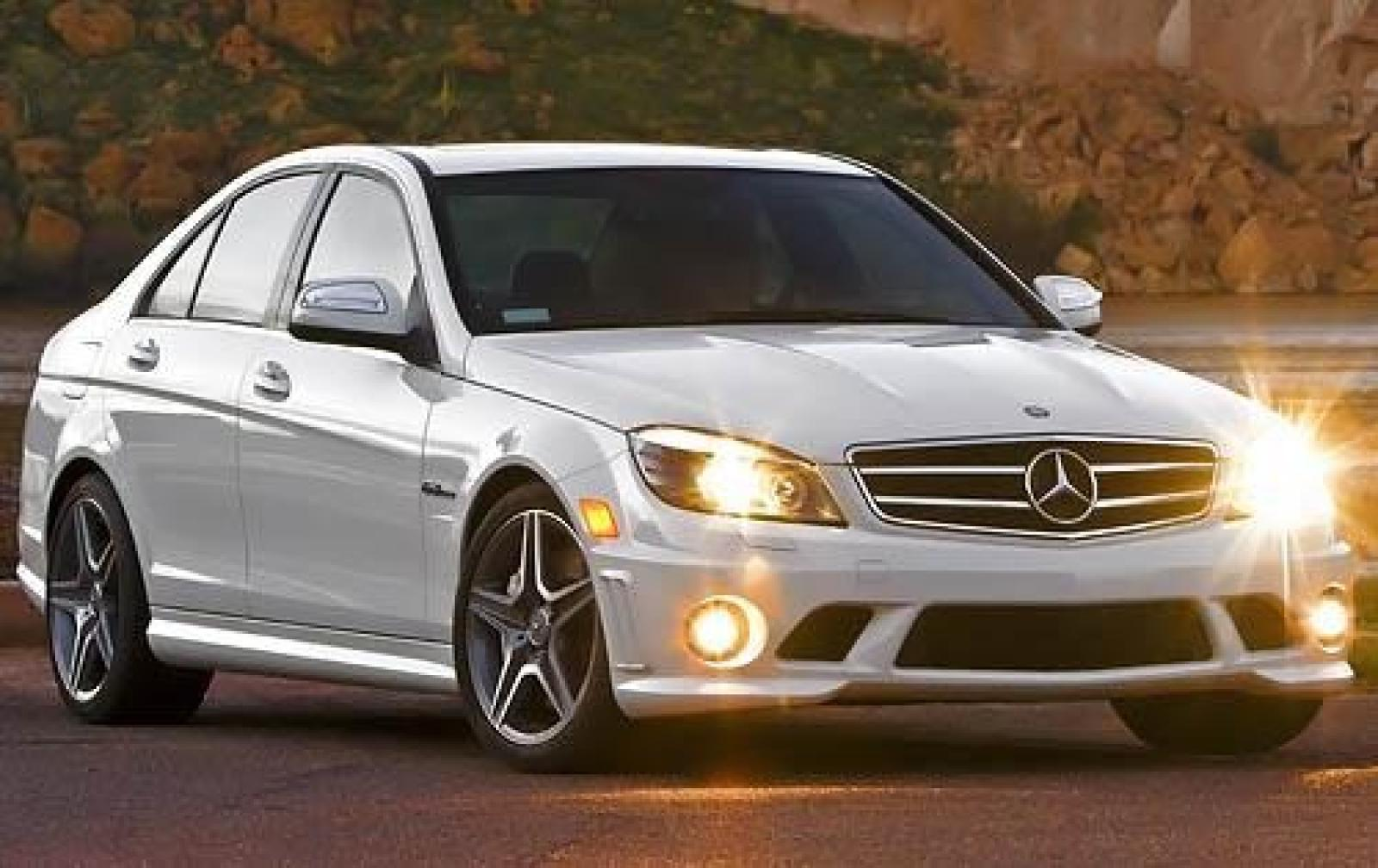2008 mercedes benz c class information and photos zombiedrive. Black Bedroom Furniture Sets. Home Design Ideas