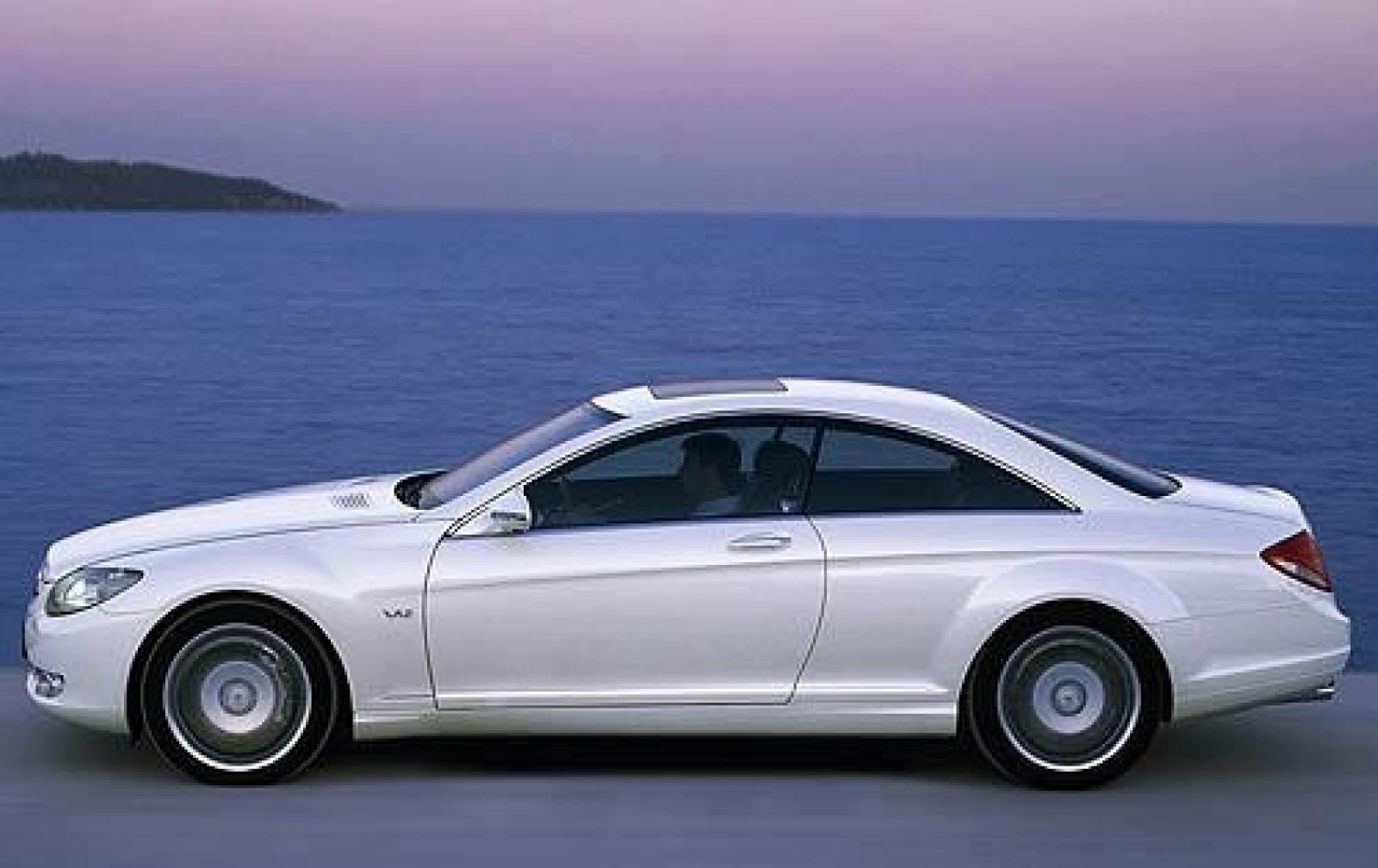 2009 mercedes benz cl class information and photos for Mercedes benz cl class