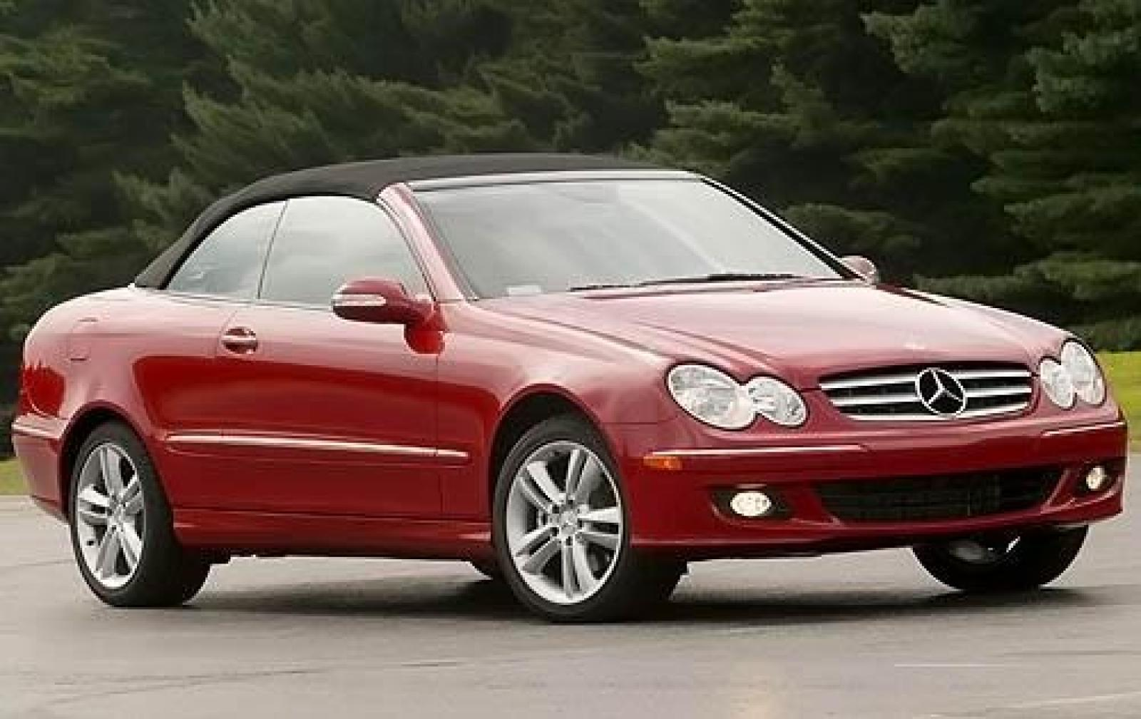 2009 mercedes benz clk class information and photos for Mercedes benz 350 convertible