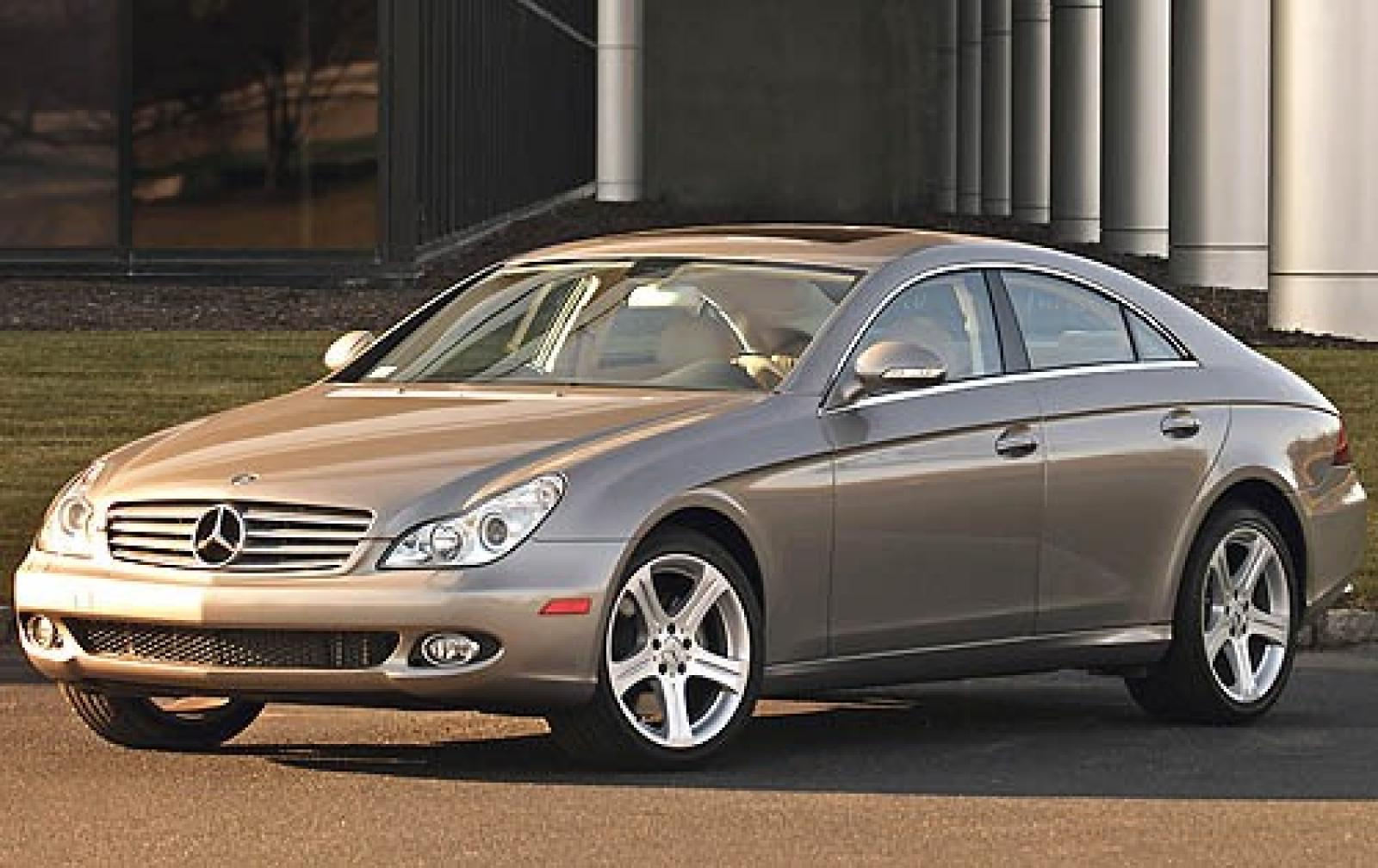 2008 mercedes benz cls class information and photos zombiedrive. Black Bedroom Furniture Sets. Home Design Ideas