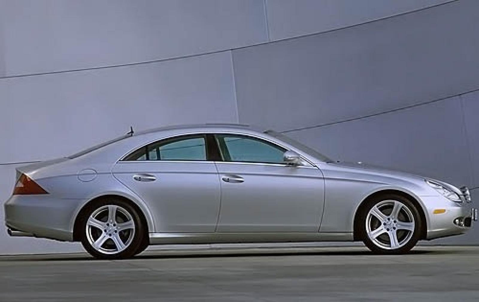 2008 Mercedes Benz Cls Class 1600px Image 6 Cls550 Rims