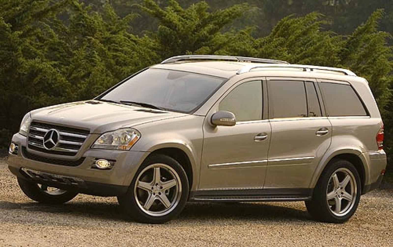 2008 mercedes benz gl class information and photos