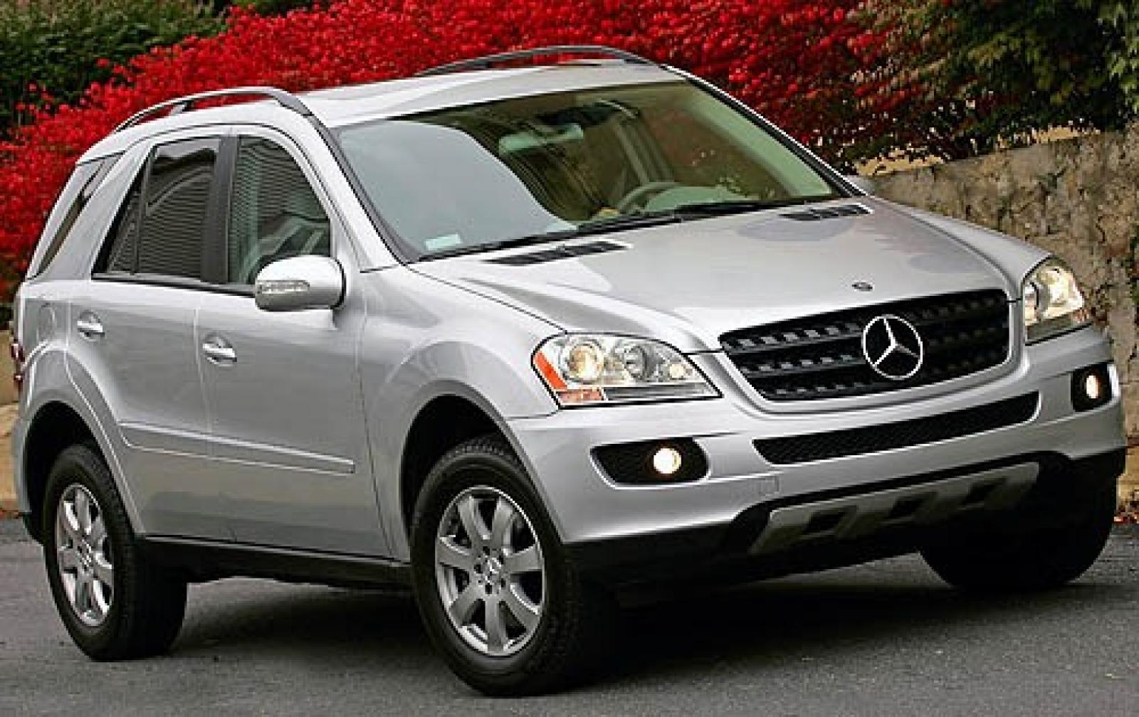 2008 mercedes benz m class information and photos