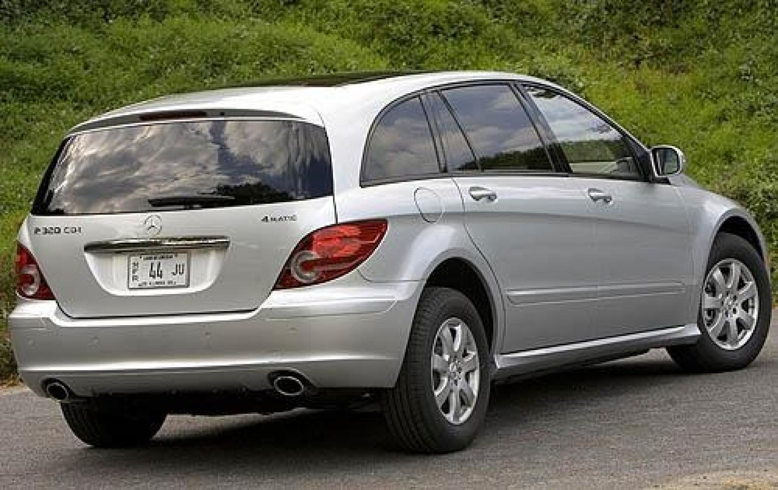 2009 mercedes benz r class information and photos for Mercedes benz r 500