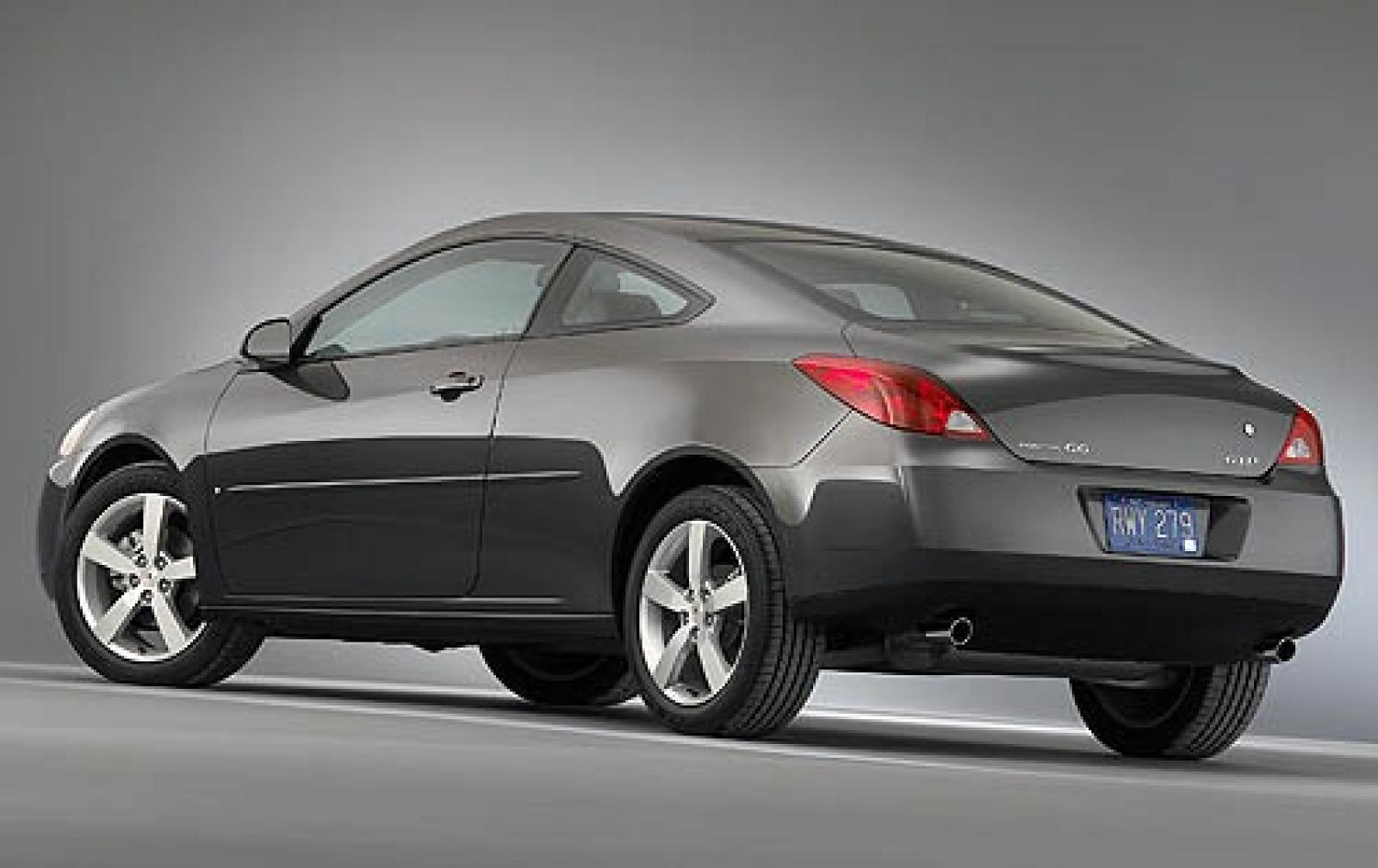 2008 Pontiac G6 Information And Photos Zombiedrive