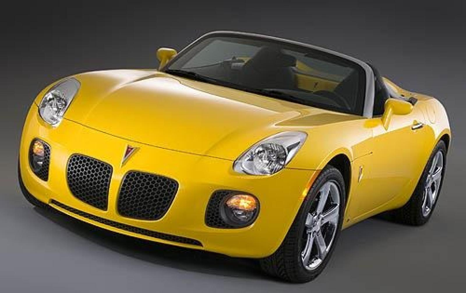 2008 Pontiac Solstice - Information and photos - ZombieDrive