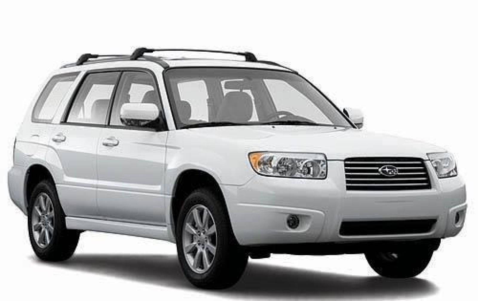 2008 subaru forester - information and photos - zombiedrive