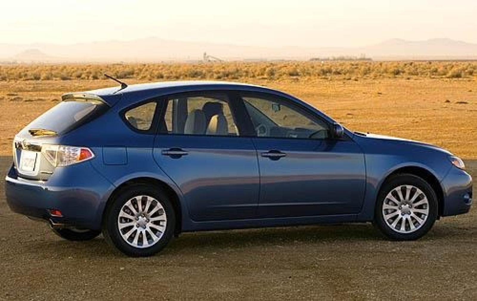 2008 subaru impreza - information and photos - zombiedrive