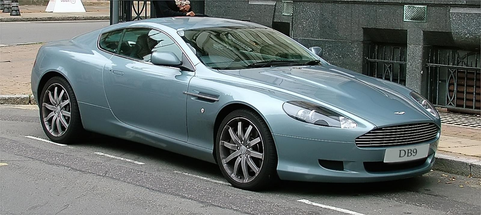 2009 aston martin db9 information and photos zombiedrive. Black Bedroom Furniture Sets. Home Design Ideas