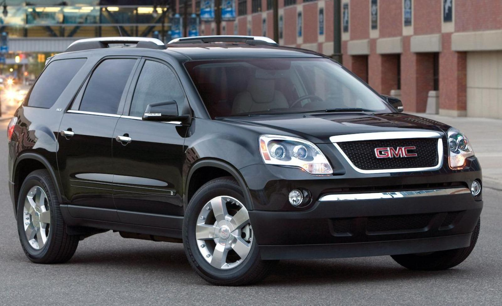 2009 gmc acadia information and photos zombiedrive. Black Bedroom Furniture Sets. Home Design Ideas