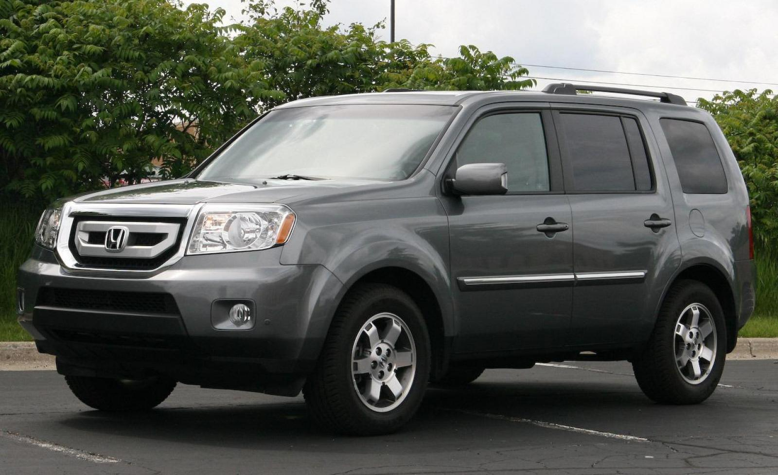 2009 honda pilot information and photos zombiedrive for Honda pilot images
