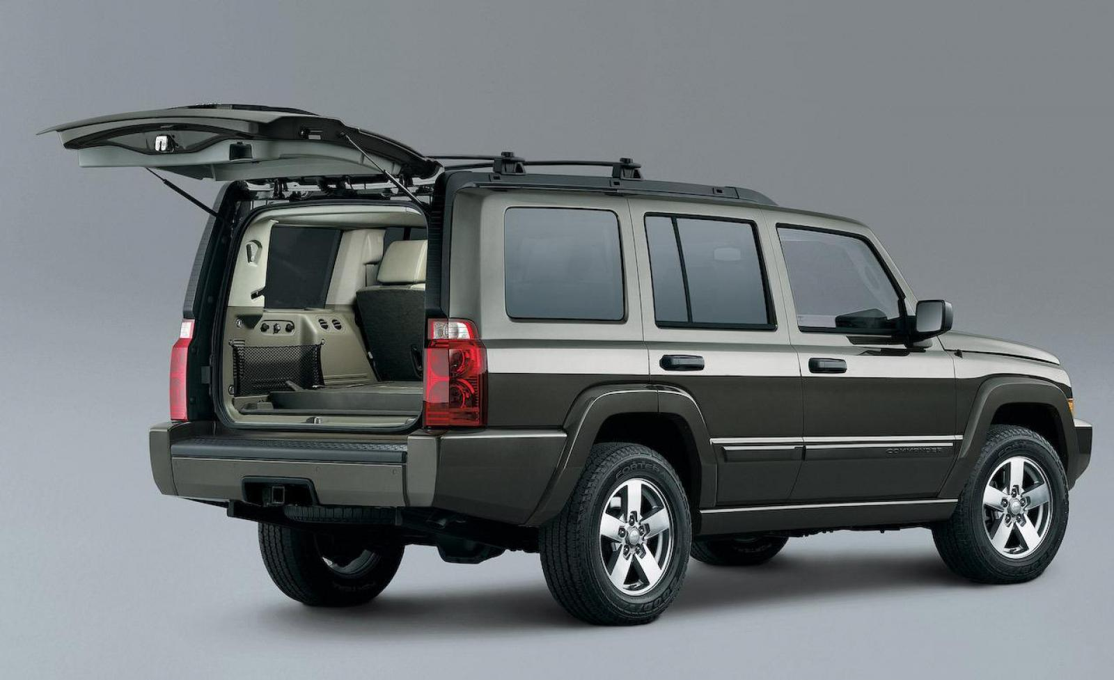 2009 jeep commander information and photos zombiedrive. Black Bedroom Furniture Sets. Home Design Ideas