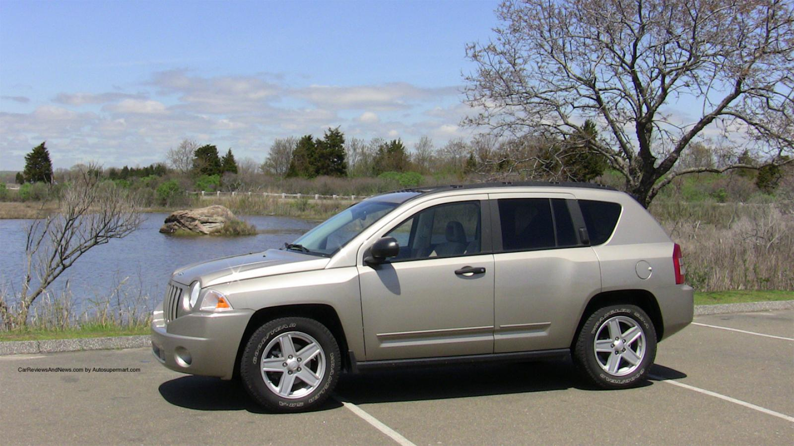 2009 jeep compass information and photos zombiedrive. Black Bedroom Furniture Sets. Home Design Ideas