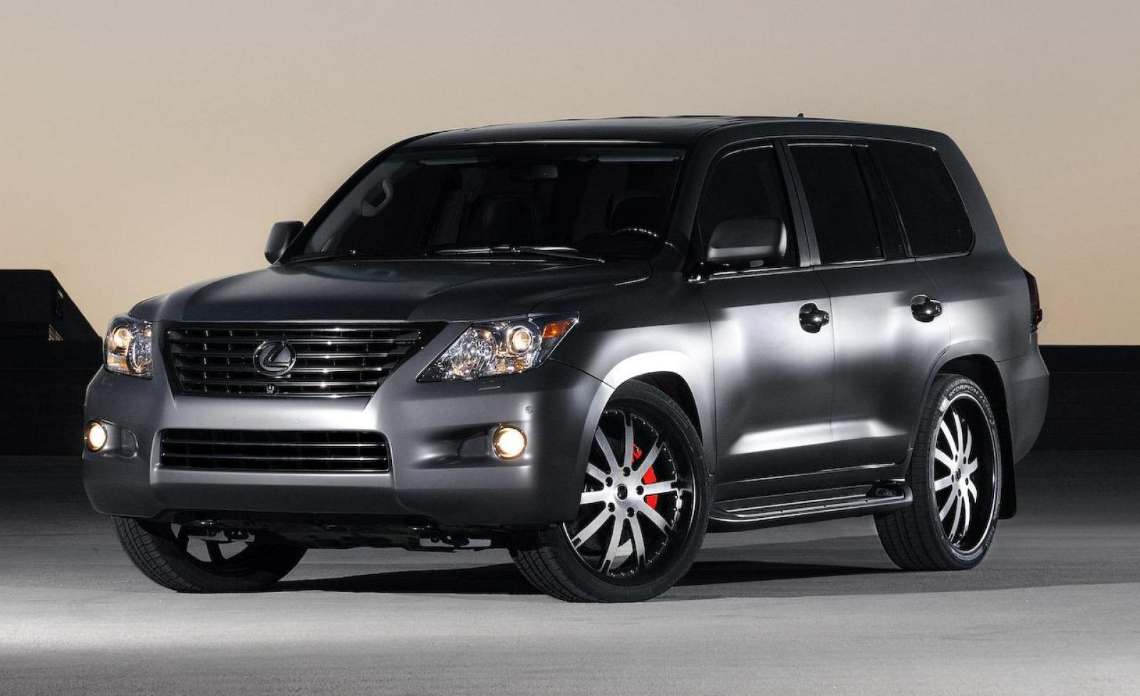 2009 lexus lx 570 information and photos zombiedrive. Black Bedroom Furniture Sets. Home Design Ideas